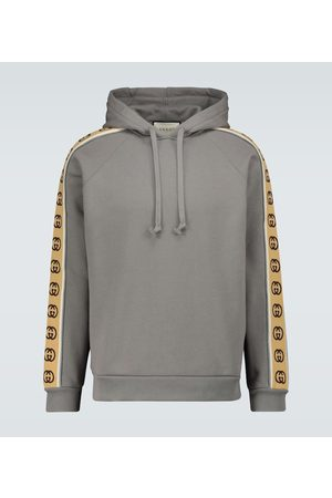 Gucci GG-trimmed hooded sweatshirt
