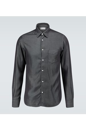 Officine Générale Benoit stitched denim shirt
