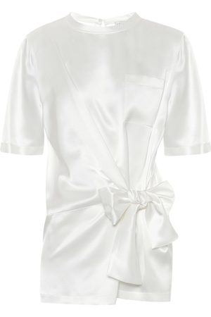 Max Mara Nitra silk-satin top