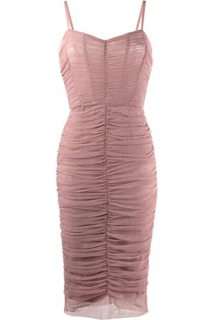 Dolce & Gabbana Women Party Dresses - Draped midi dress