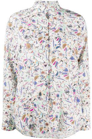 Isabel Marant Geometric-print blouse