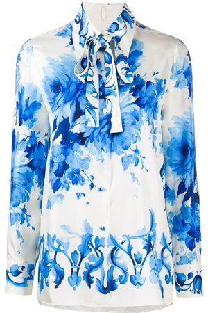 VALENTINO Floral print shirt