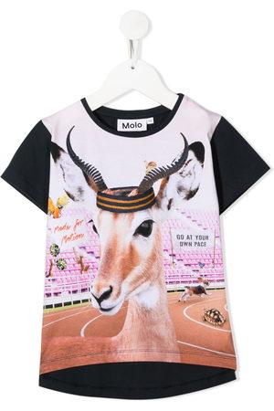 Molo Girls T-shirts - Risha Your Own Pace print T-shirt