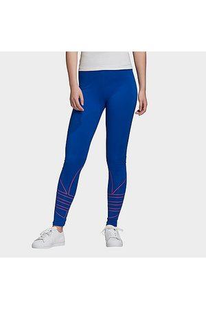 adidas Women's Originals Adicolor Large Logo Leggings in Size X-Small Cotton
