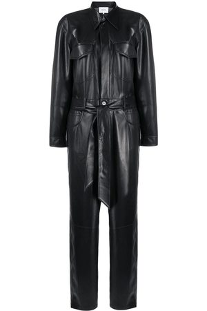 Nanushka Ashton vegan leather jumpsuit