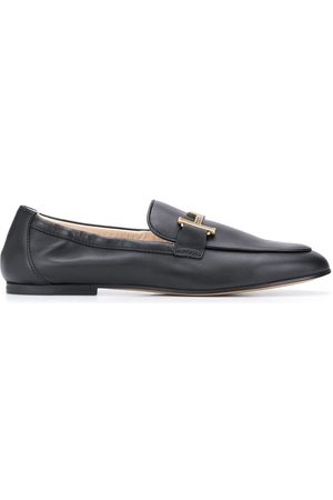 Tod's T logo loafers