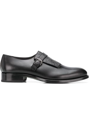 Etro Glossed monk shoes