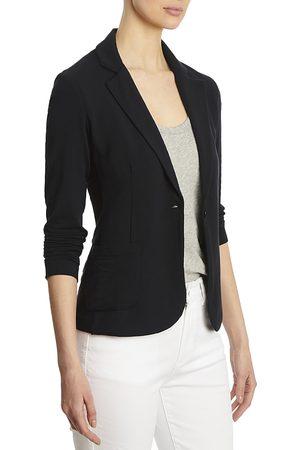 Majestic Filatures Women Blazers - French Terry One Button Blazer
