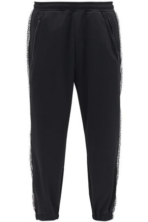 7 MONCLER FRAGMENT Isometric-embroidered Jersey Track Pants - Mens