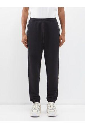 7 Moncler Frgmt Hiroshi Fujiwara Logo-tape Cotton-jersey Track Pants - Mens