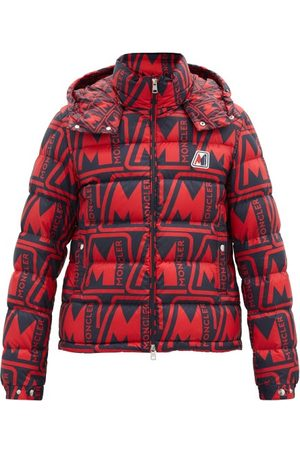 Moncler Frioland Logo-print Quilted Down Hooded Jacket - Mens - Multi