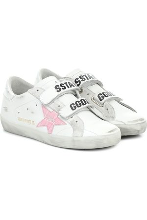 Golden Goose Exclusive to Mytheresa – Old School leather sneakers