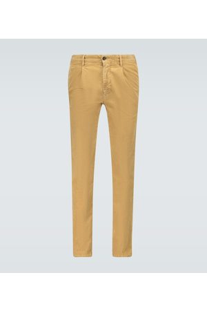 Incotex Corduroy pleated pants