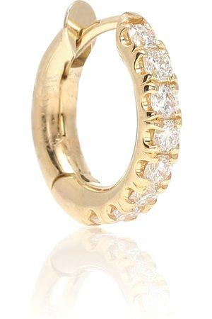 SPINELLI KILCOLLIN Mini Micro Hoop Pavé 18kt and diamond earring