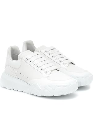 Alexander McQueen Women Sneakers - Court leather sneakers