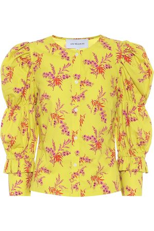 Les Rêveries Exclusive to Mytheresa – Floral cotton poplin blouse