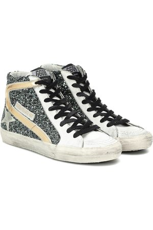 Golden Goose Exclusive to Mytheresa – Slide glitter sneakers