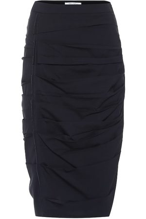 Max Mara Calcina wool-blend skirt