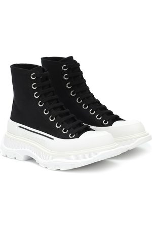 Alexander McQueen Tread Slick canvas sneakers