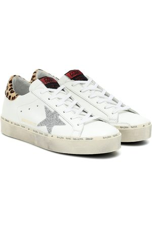 Golden Goose Women Sneakers - Exclusive to Mytheresa – Hi Star leather sneakers