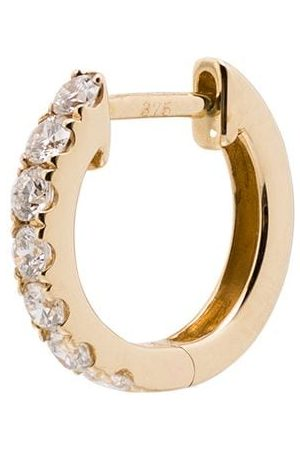 Roxanne First 14kt medium chubby hoop earring