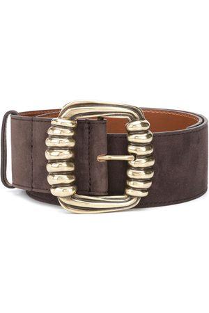 Etro Women Belts - Square buckle belt