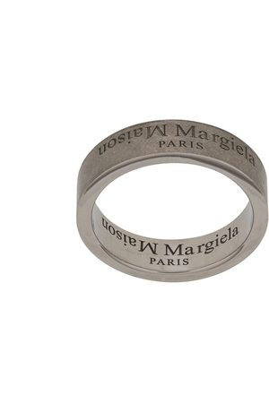 Maison Margiela Men Rings - Logo engraved ring