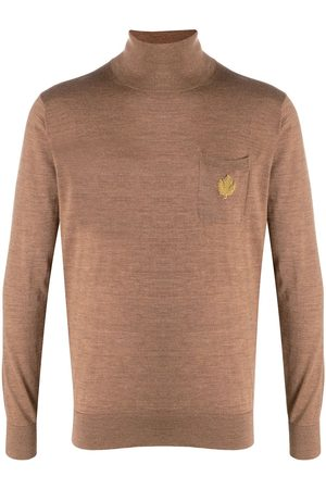 Dsquared2 Logo-appliqué roll neck sweater