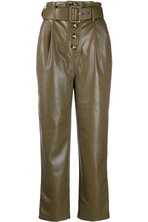 Self-Portrait Straight-leg trousers