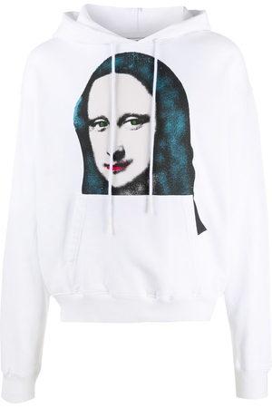 OFF-WHITE Mona Lisa print hoodie