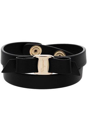 Salvatore Ferragamo Vara Bow double-strap bracelet