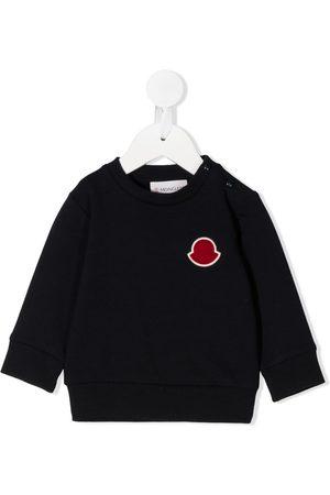 Moncler Hoodies - Logo-patch sweatshirt