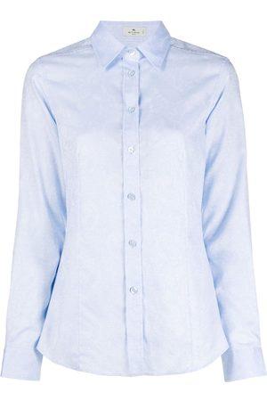 Etro Long-sleeved paisley shirt