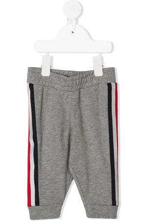 Moncler Pants - Stripe trim sweatpants - Grey
