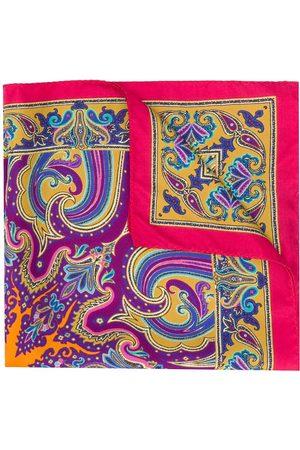 Etro Men Bow Ties - Printed pocket square