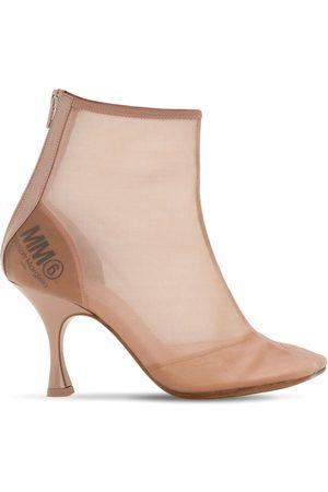 MM6 MAISON MARGIELA 90mm Mesh Ankle Boots