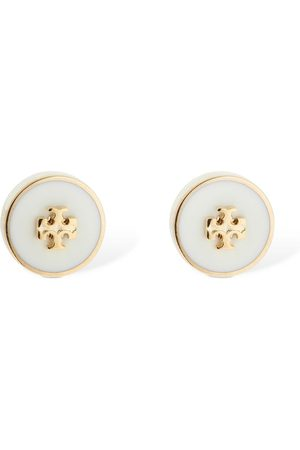 Tory Burch Kira Enamel Stud Earrings