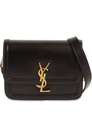 Saint Laurent Women Shoulder Bags - Solferino Small Leather Shoulder Bag