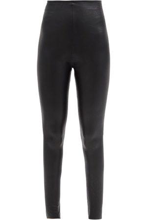 Commando High-rise Faux-leather Leggings - Womens