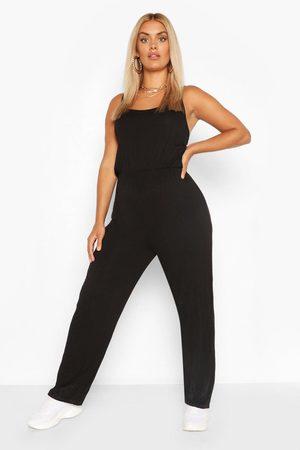 Boohoo Womens Plus Basic Cami Jumpsuit - - 12