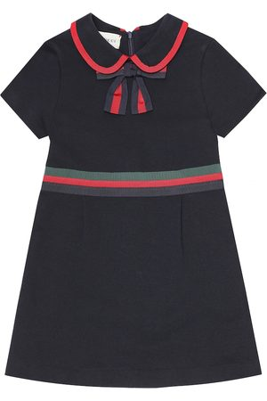 Gucci Felted cotton-jersey dress