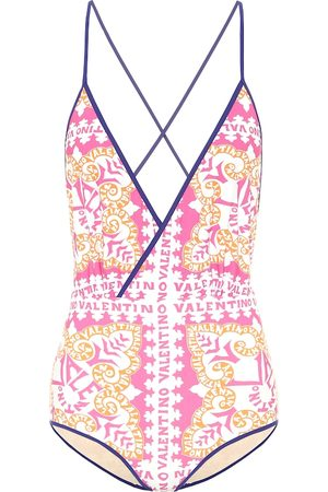 VALENTINO Exclusive to Mytheresa – Printed swimsuit