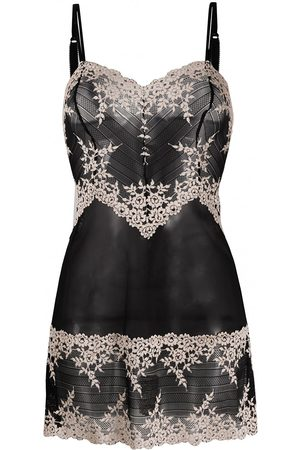 Wacoal Women Nightdresses & Shirts - Floral embroidered chemise