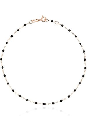 GIGI CLOZEAU 18kt rose beaded anklet - R20 ROSE