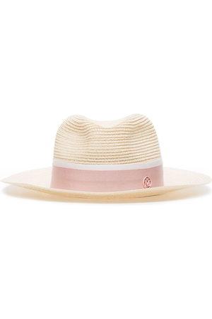 Le Mont St Michel Henrietta fedora hat - Neutrals