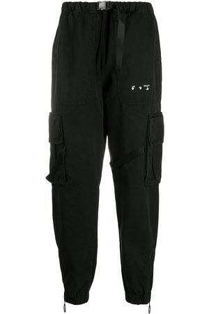 OFF-WHITE Logo-print cargo trousers