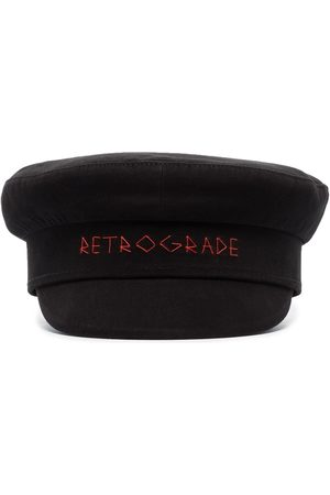 Ruslan Baginskiy Boys Hats - Retrograde baker boy hat