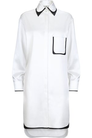 Fendi Trim-embellished shirt dress