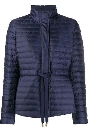 Michael Michael Kors Women Puffer Jackets - Drawstring waist puffer jacket