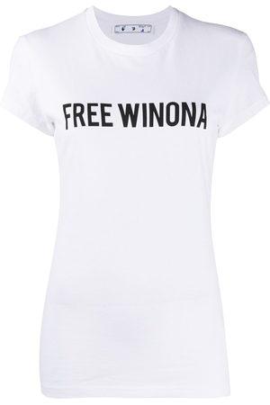 OFF-WHITE Free Winona printed T-shirt